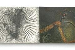 Cyanotypie und Mischtechnik